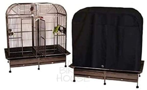 "Universal 64"" x 32"" Side-by-Side Flat Top Bird Cage Cover"