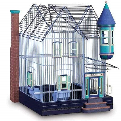 Featherstone Heights Victorian House Bird Cage