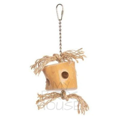 Wood Cheese Bird Toy