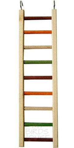 "Wooden Hanging Ladder - 20"" Bird Cage"
