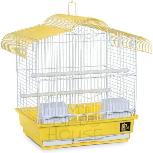 Parakeet Bird Cage - Yellow