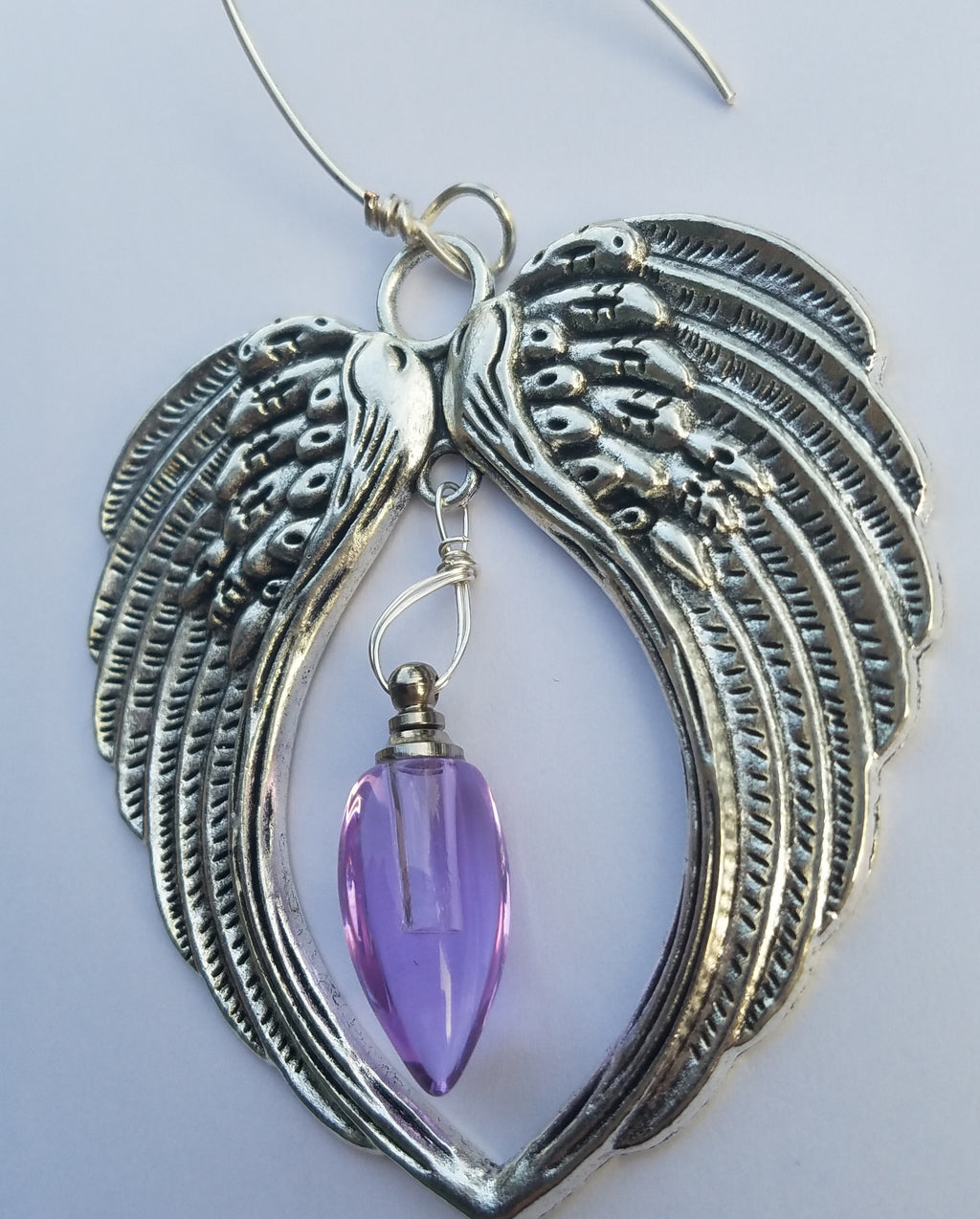 angel wing ornament urn bead suncatcher Unique Sympathy Gifts. Fill Yourself Cremation Ash Ring Lockets, Rings For Ashes, Cremation Jewelry Urn Bead Pendants, And Holiday Ornaments. Gift Wrapped and Free Shipping. Sympathy Mourning Glass Art Service. USA Handmade by Infusion Glass Human and Pet Cremation Ash Remembrance Urns AshesInfusedGlass.com