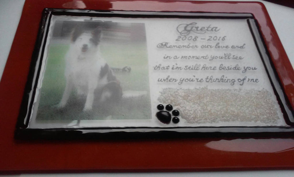 pet photo urn Unique Celebration of life Funeral Memorials. Ashes in Glass Cremation Glass Art Sculptures, Cremation Wind Chimes, Cremation Sun Catchers, Table Displays, & Cremation Jewelry Custom USA Handmade by Infusion Glass. Ashes Infused Glass Human and Pet Cremation Ash Urns  Ashesinfusedglass.com