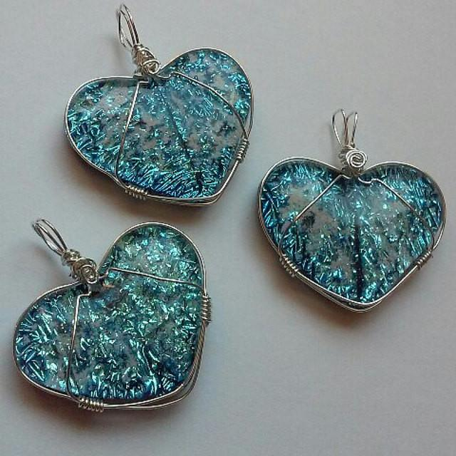 glass heart pendnats infused with cremation ashes sterling silver, cremation jewelry, memorial jewelry, pet memorial jewelry, cremation ring, memorial ring, handmade, urn ring, ashes in glass, ashes InFused Glass, ring for Ashes, sympathy gift USA Handmade by Infusion Glass Artist Joele Williams Human and Pet Cremation Ash Remembrance Urns AshesInfusedGlass.com