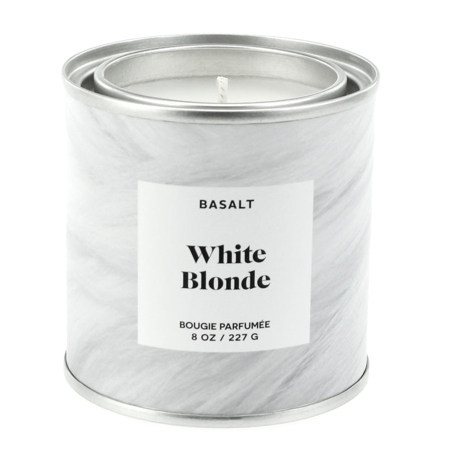 White Blonde Candle