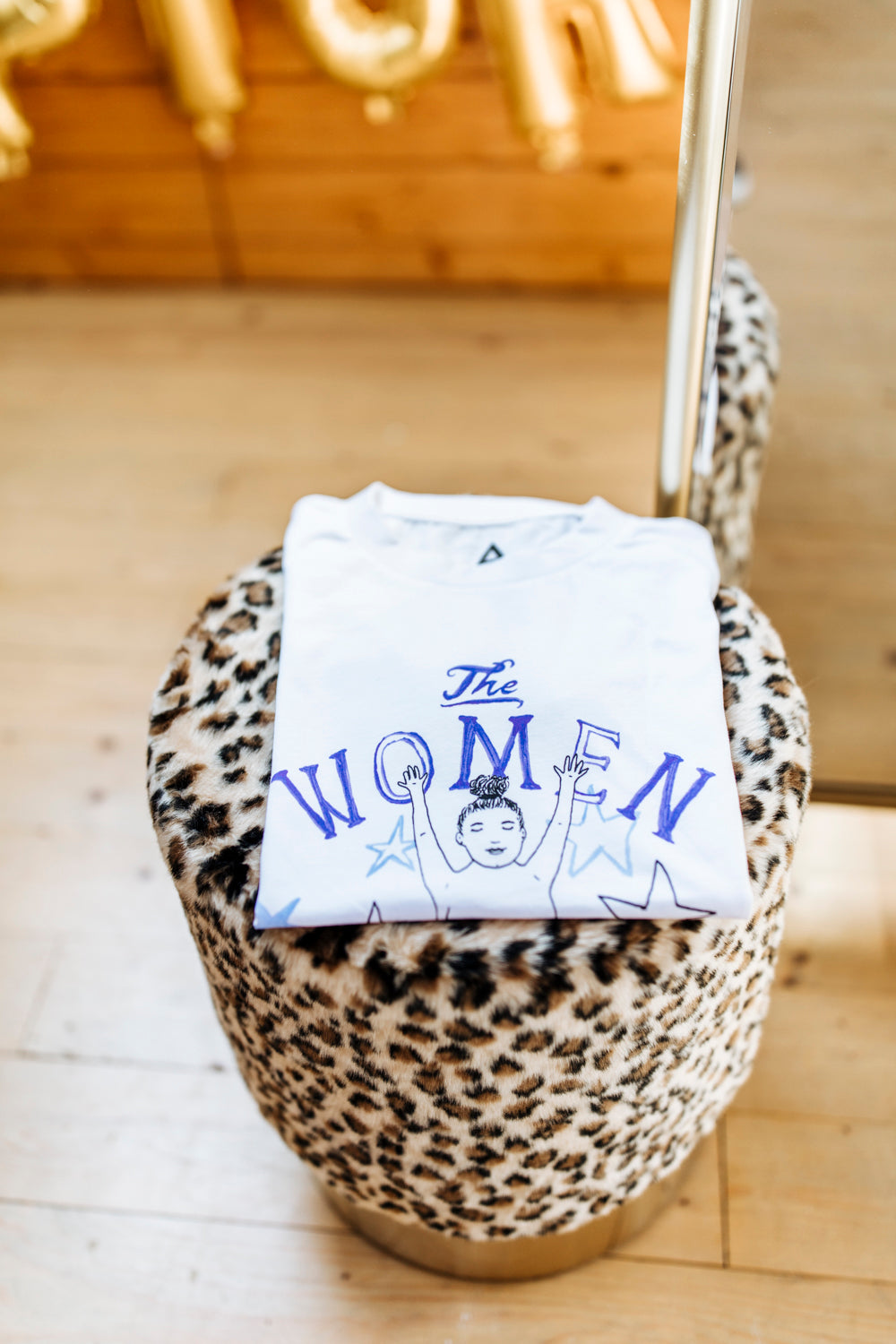 The Women Club Blue T-shirt