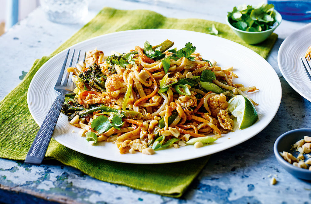 October's Recipe of the Month - Mimi's Vegetarian Pad Thai