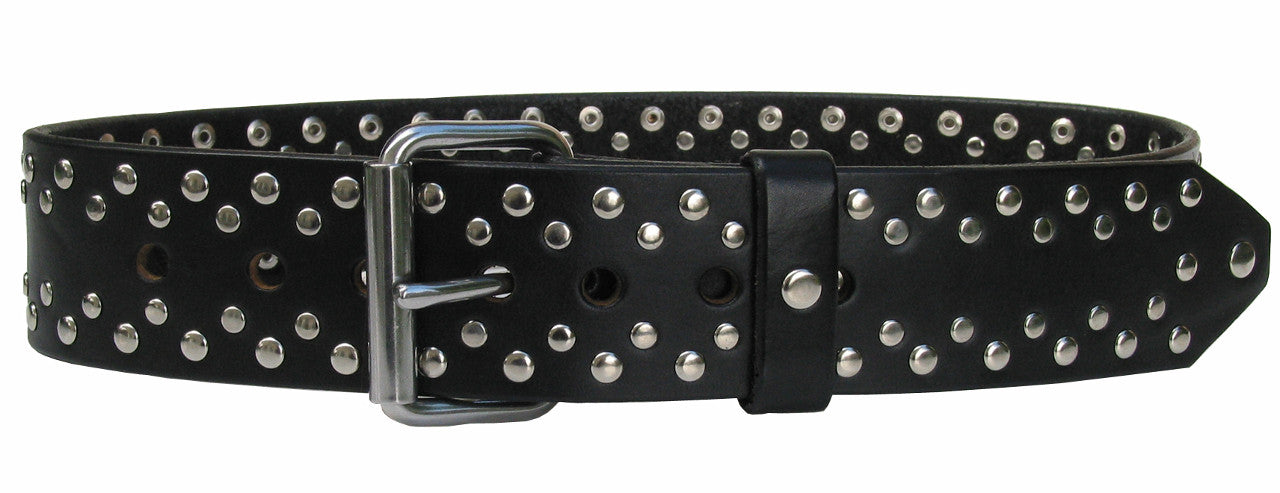 handmade-leather-ultra-rivet belt