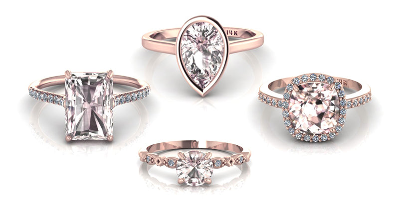 Why Morganite Rings Have Become the Best Alternative Choice for Engagement Rings