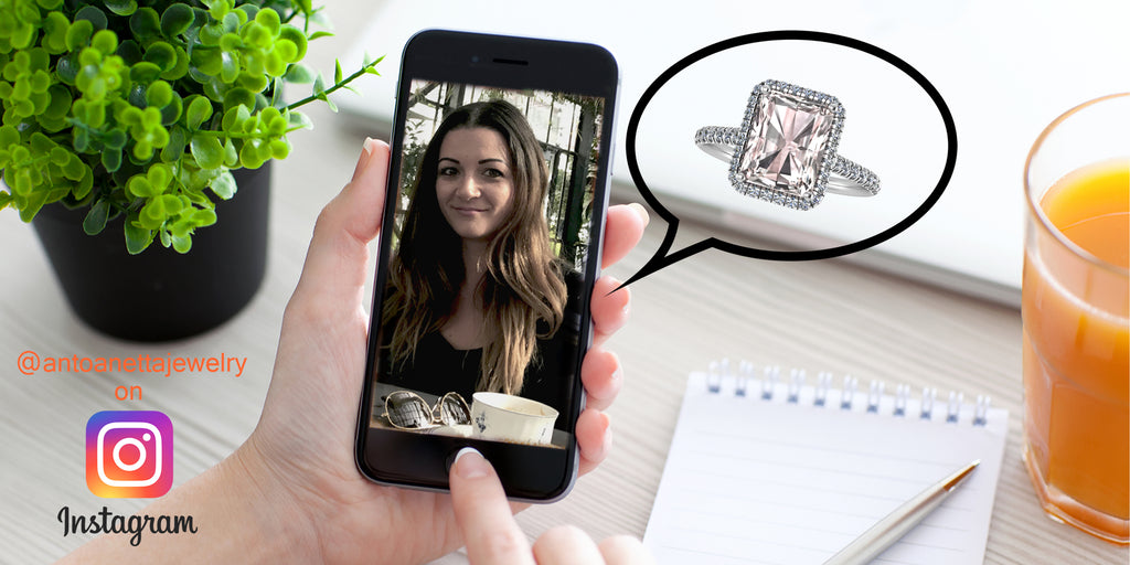 The future of jewelry shopping - ANTOANETTA - A VIRTUAL BOUTIQUE