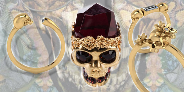 The Romantic Appeal of Skull Rings