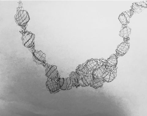Eden Xo Antoanetta Trapped Necklace Sketch
