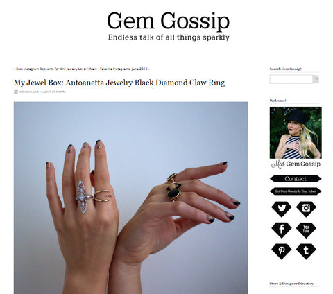 My Jewel Box on Gem Gossip