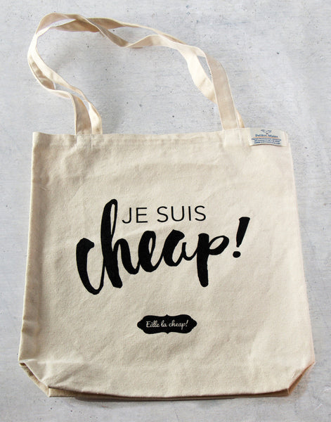 Sac de shopping Je suis cheap!