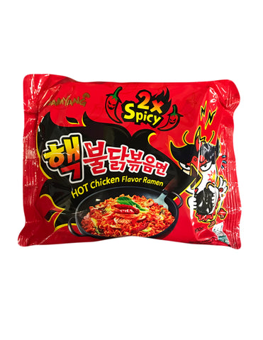 <b>SAMYANG</b><br>2X Spicy Hot Chicken Flavor Ramen 1-pack