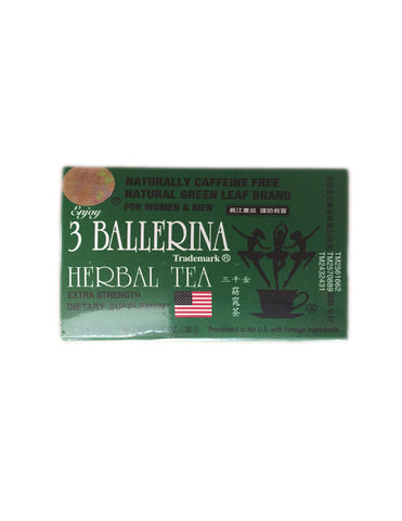 <b>3 BALLERINA</b><h1> Herbal Tea</h>