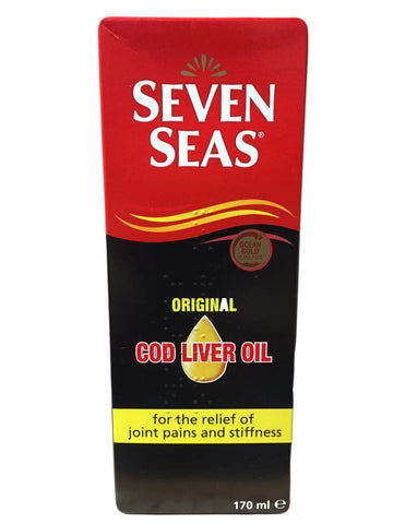<b>SEVEN SEAS</b><br>Original Cod Liver Oil
