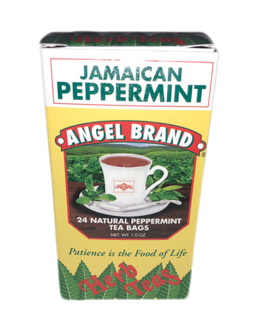 <b>ANGEL BRAND</b><br>Jamaican Peppermint Tea - 24 Bags