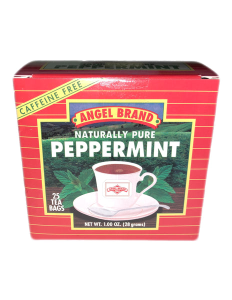 <b>ANGEL BRAND</b><br>Naturally Pure Peppermint Tea - 25 Bags