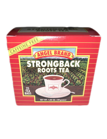 <b>ANGEL BRAND</b><br>Strongback Roots Tea - 25 Bags