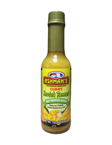 <b>ASHMAN'S</b><br>Curry Scotch Bonnet Hot Pepper Sauce