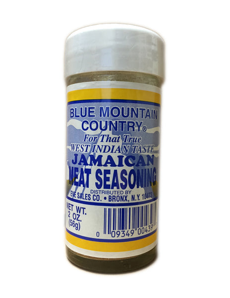 <b>BLUE MOUNTAIN</b><br>Jamaican Meat Seasoning