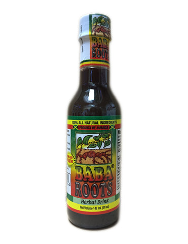 <b>BABA ROOTS</b><br>Herbal Beverage