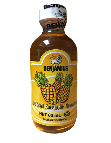 <b>BENJAMINS</b><br>Artificial Pineapple Flavouring