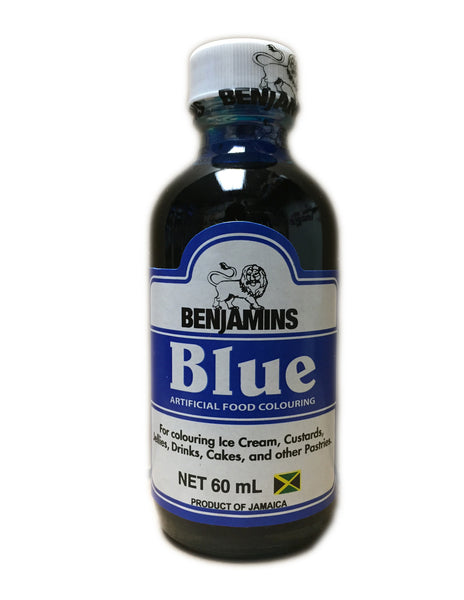 <b>BENJAMINS</b><br>Blue Artificial Food Colouring