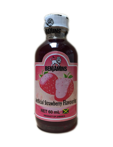 <b>BENJAMINS</b><br>Artificial Strawberry Flavouring