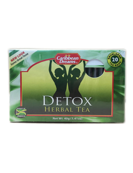 <b>CARIBBEAN DREAMS</b><br>Detox Herbal Tea - 20 Bags