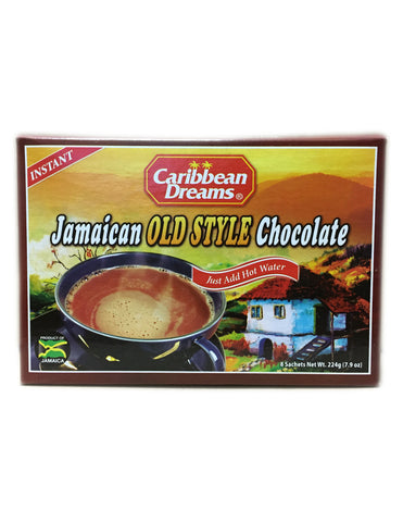 <b>CARIBBEAN DREAMS</b><br>Jamaican Old Style Chocolate