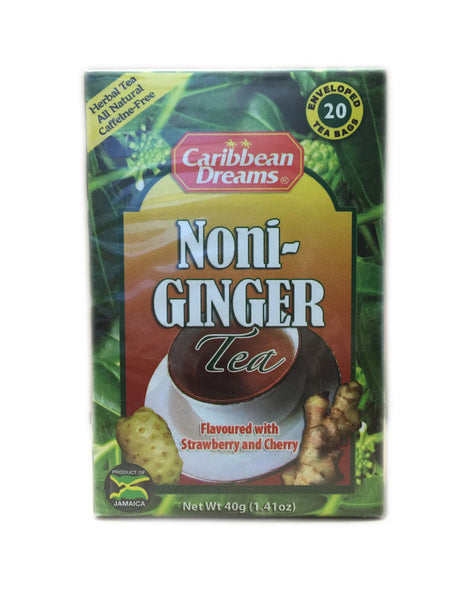 <b>CARIBBEAN DREAMS</b><br>Noni-Ginger Tea - 20 Bags