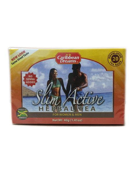 <b>CARIBBEAN DREAMS</b><br>Slim Active Herbal Tea - 20 Bags