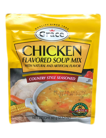 <b>GRACE</b><br>Flavored Soup Mix (Chicken)