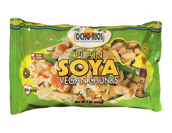 <b>OCHO RIOS</b><br>Plain Soya Vegan Chunks