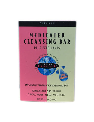 <b>CLEAR ESSENCE</b><br>Medicated Cleansing Bar