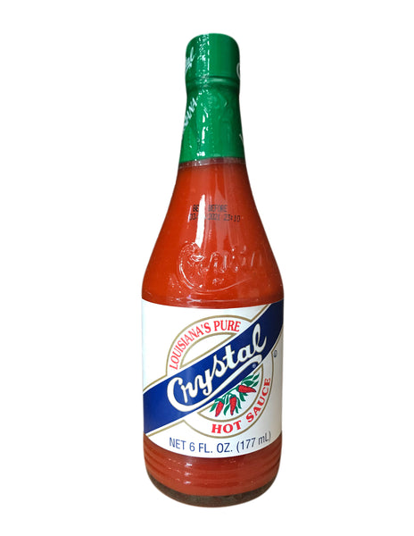 <b>CRYSTAL</b><br>Lousiana's Pure Hot Sauce