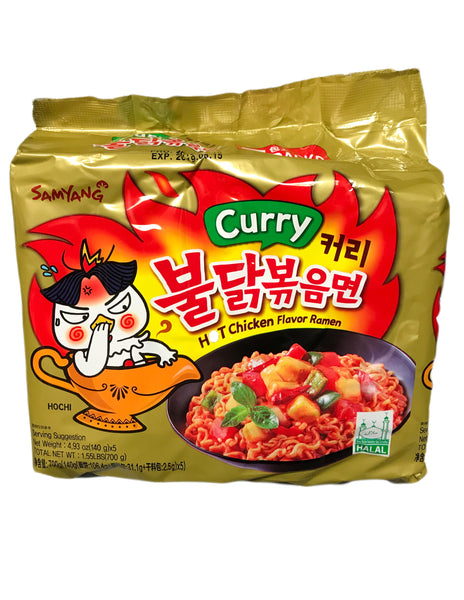<b>SAMYANG</b><br>Hot Chicken Flavor Ramen (Curry) Family Pack
