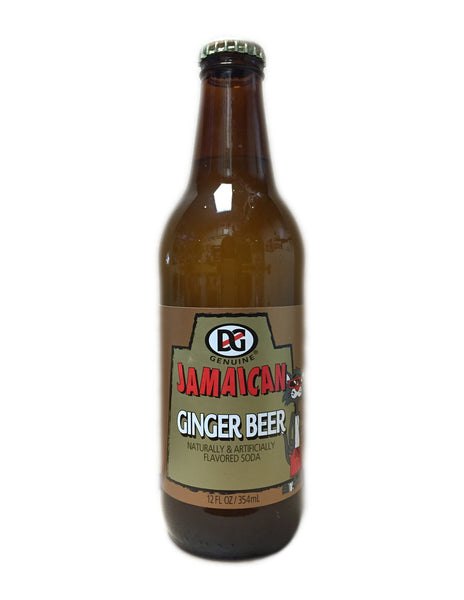 <b>D & G</b><br>Jamaican Ginger Beer
