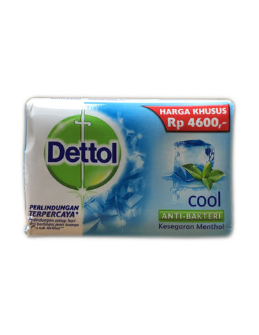 <b>DETTOL</b><br>Cool Anti-Bacterial Soap Bar