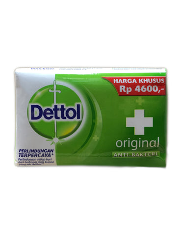 <b>DETTOL</b><br>Anti-Bacterial Soap Bar