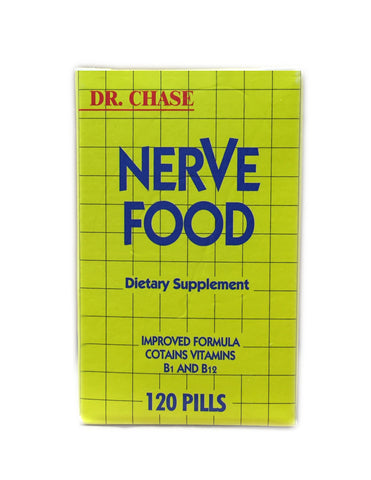 <b>DR. CHASE</b><br>Nerve Food Dietary Supplement
