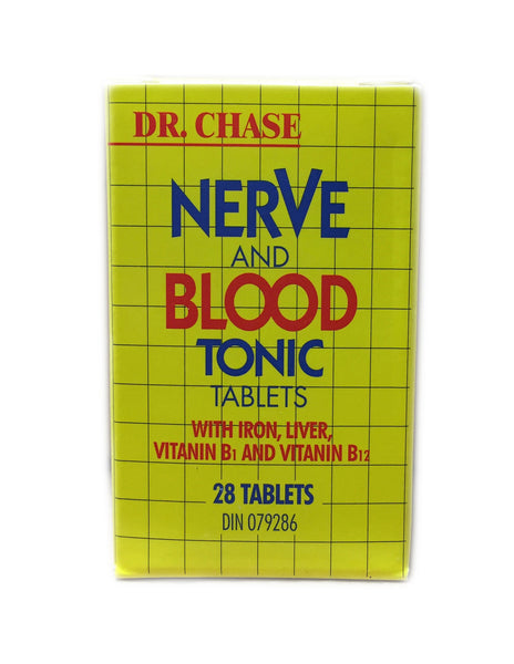 <b>DR. CHASE</b><br>Nerve and Blood Tonic Tablets
