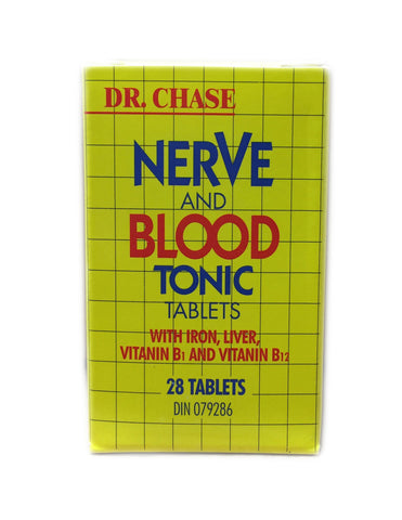 <b>DR. CHASE</b><br>Nerve and Blood Tonic