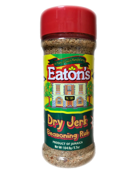 <b>EATON'S</b><br>Dry Jerk Seasoning Rub (Mild)