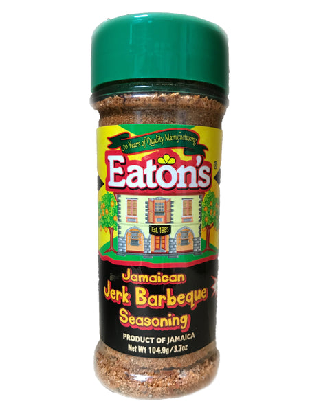 <b>EATON'S</b><br>Jamaican Jerk BBQ Seasoning