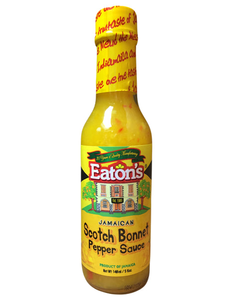 <b>EATON'S</b><br>Jamaican Scotch Bonnet Pepper Sauce