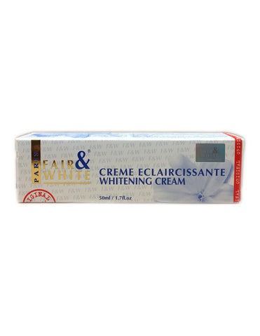 <b>FAIR & WHITE</b><br>Creme Eclaircissante Whitening Cream