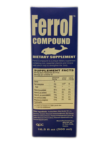 <b>FERROL</b><br>Dietary Supplement